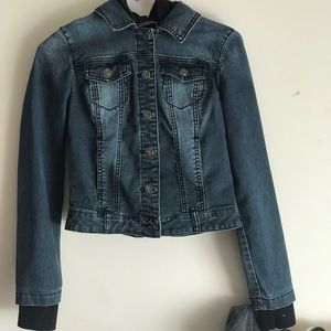 Guess Jean jacket (hooded)